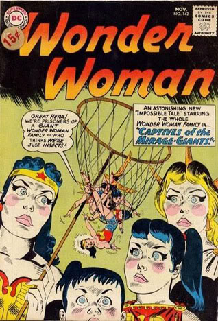 Wonder woman comic book covers