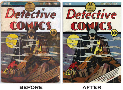 Comic coverage do it yourself comic book restoration restoration solutioingenieria Choice Image
