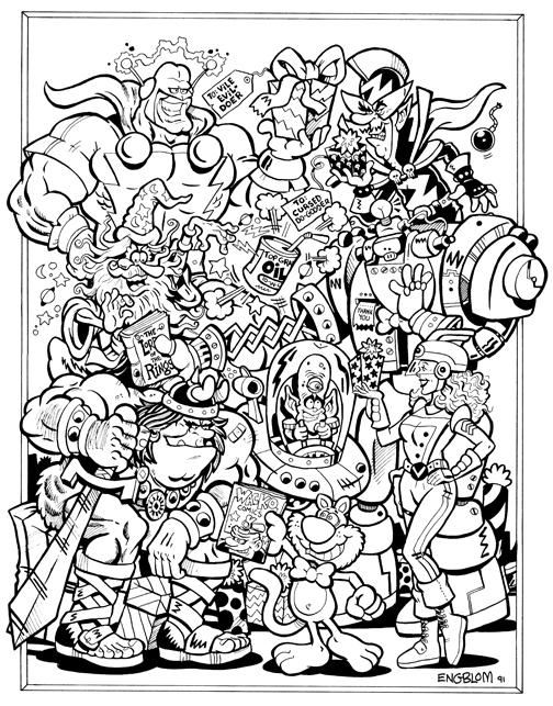 CBG Annual Gift Guide cover (1991)