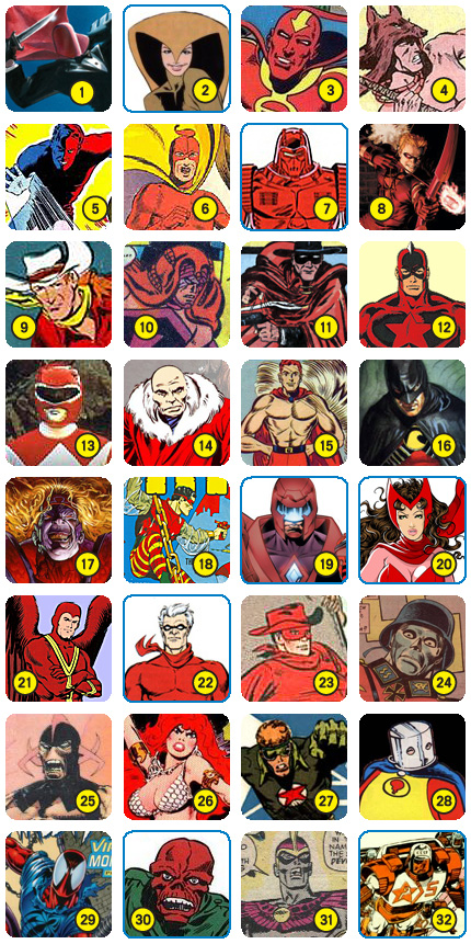 Red_character_grid
